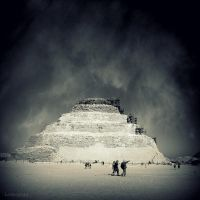 Pyramid of Djoser by lostknightkg