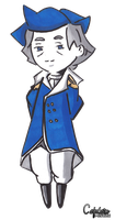COM: Chibi George Washington by CaptainMisuzu