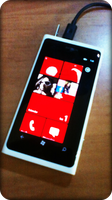 My lumia is preparing for christmas by ink-line
