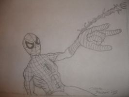 Spider-man for Cam WIP by somechick73
