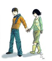 AU- I want to hold your hand by Irrel