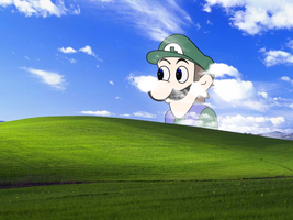 Bliss with Weegee (800x600) by gamma097