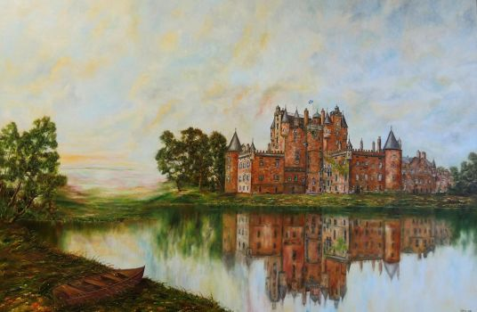 Glamis castle - Scotland by meafantasy