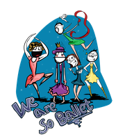 VGA is so ballet tshirt (request) by JacketRockArt