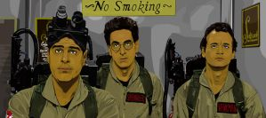 Ghostbusters The Elevator by Chapter37