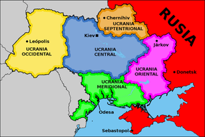 Reduction and federalization of Ukraine by matritum