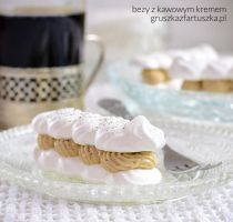 meringue with coffee cream by Pokakulka