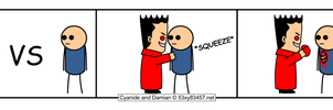 Damian versus Cyanide and Happiness (DV) by 53xy83457