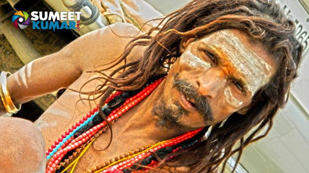 Naga Sadhu at Kumbh Mela 2013 by gotosumeet