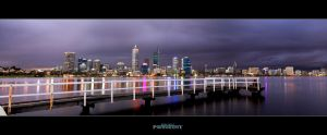 Stormy Perth Night by Furiousxr
