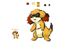 Fakemon Embrit Sprite by Anneuh