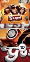 The Gospel Party Flyer by caniseeu