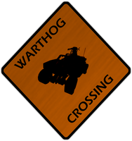 Warthog Crossing by retro-pixel