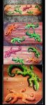 Skatedeck LIZZZARD own design, 8 inch. up for sale by Cathy86