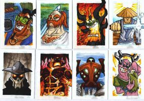Samurai Jack Cards Set 1 by SecondsWalker