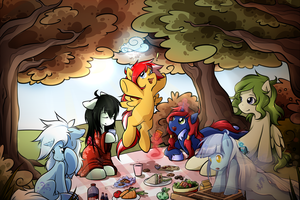Autumn Picnic by secret-pony