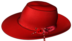 Red hat PNG by DoloresMinette