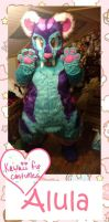 Alula finished! by Kawaii-fur-costumes