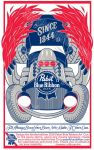 Pabst Blue Ribbon Hotrod by socialZZZOMBIE