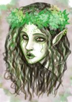 The wood elf by CristianaLeone