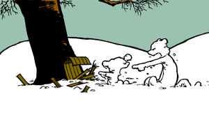 Calvin and Hobbes: The Crash by xX-Pureness-Xx
