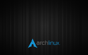 Stripes ArchLinux GDM Wallpaper by Alucryd