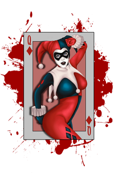Harley Quinn by Zombinees