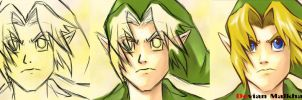 YOUNG LINK (ocarina of time) by DEVIAN-MALKHAVIAN