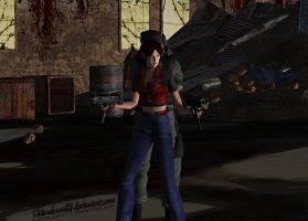 Resident Evil:Code Veronica X-Claire's view by xXLife-Starts-NowXx