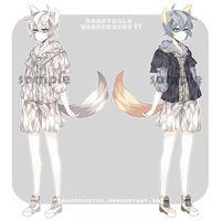 [CLOSED] Adoptable: Monochrome II by Staccatos