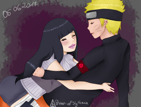 YCH for CodeHeaven (2/2)(Hinata x Naruto) by Prince-Of-Slytherin