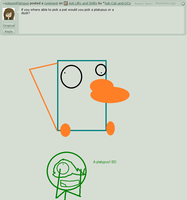 Ask Lifty and Shifty question 3# Duck or platypus? by Ask-Cat-and-OCs