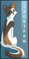 Ivorypaw Forum Icon by Kitsanil