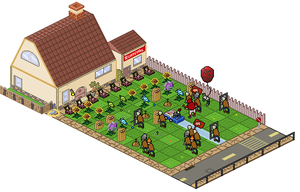 Isometric Plants vs Zombies (pixel version) by Gridysgood