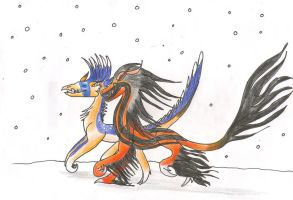 Gift: Snow Race by Azuria992