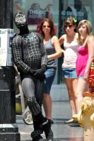 Emo Spider Man in Hollywood by Resaturatez
