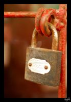 Padlock no. 7 by vvvulpea