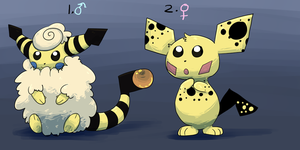 PKMNation: Mari/Penny Clutch [CLOSED] by garbagekeeper