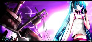 Hatsune Miku~Re:dial by dhymz91