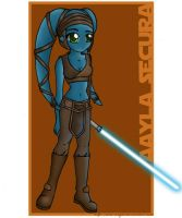 Aayla Secura by ava-angel