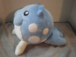 Spheal Pokemon Plush by cosmiccrittercrafts