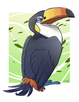 Favorite Flying Type: Toucannon by KatieOsika