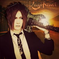 The GazettE - Kagefumi (Fanmade Album Cover) by Me-The-Manga-Fan101
