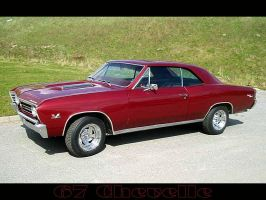 chevelle 67 burgandy by puddlz