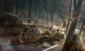 Company of Heroes concept art. by Destinchill