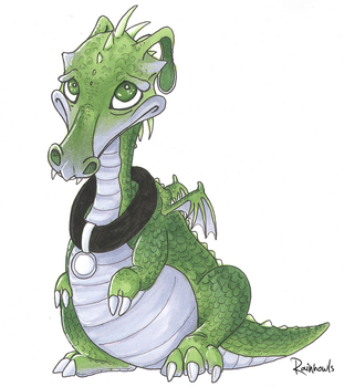 3 copic marker challenge: Errol by rainhowlspl