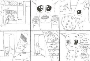1st ever comic : Cookie Mad :3 by Razziary