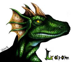 Larom Greenscale by ReptileCynrik