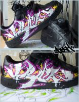 Updated Right Sneaker by jonix