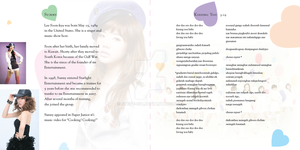 CD Booklet Sunny-1st lyrics pg by Steve-ish